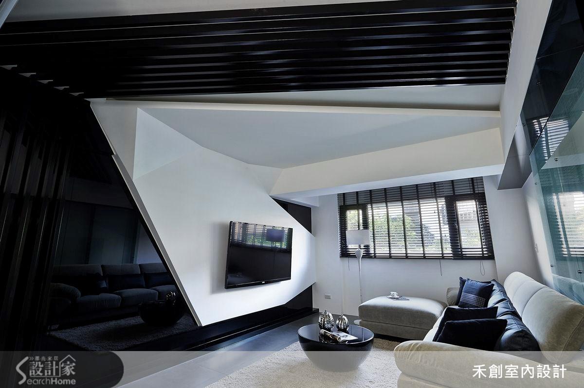 32坪老屋(16~30年)_現代風客廳案例圖片_禾捷室內裝修設計有限公司_禾創_19之4