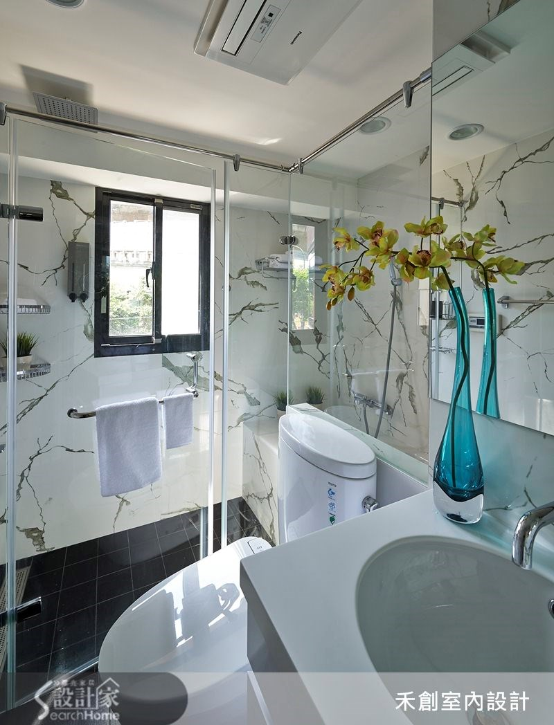 32坪老屋(16~30年)_現代風浴室案例圖片_禾捷室內裝修設計有限公司_禾創_19之22