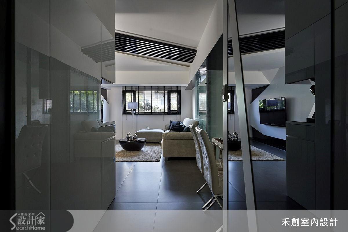 32坪老屋(16~30年)_現代風走廊案例圖片_禾捷室內裝修設計有限公司_禾創_19之3