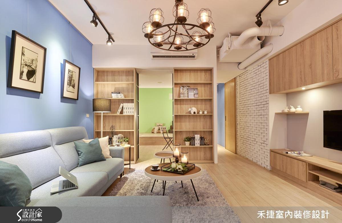 40坪老屋(16~30年)_工業風案例圖片_禾捷室內裝修設計有限公司_禾捷_30之4