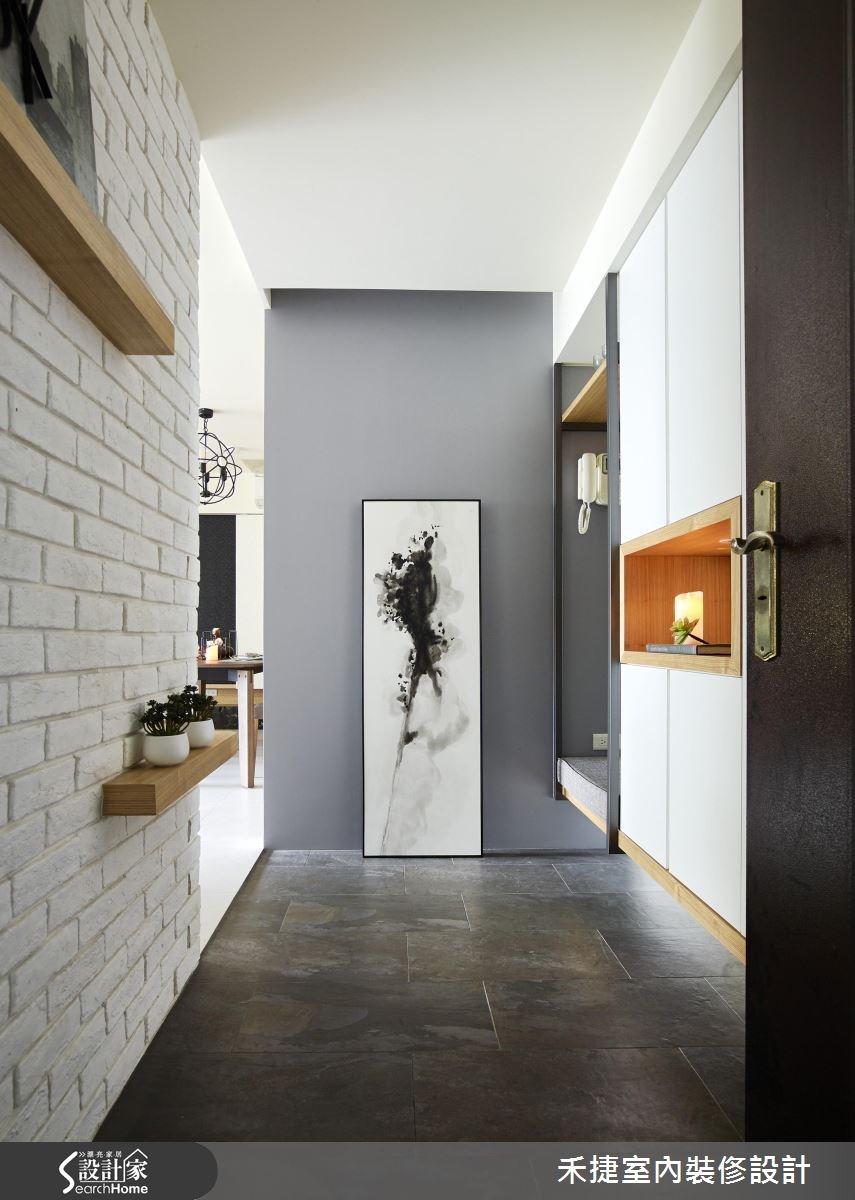 30坪新成屋(5年以下)_現代風案例圖片_禾捷室內裝修設計有限公司_禾捷_32之1