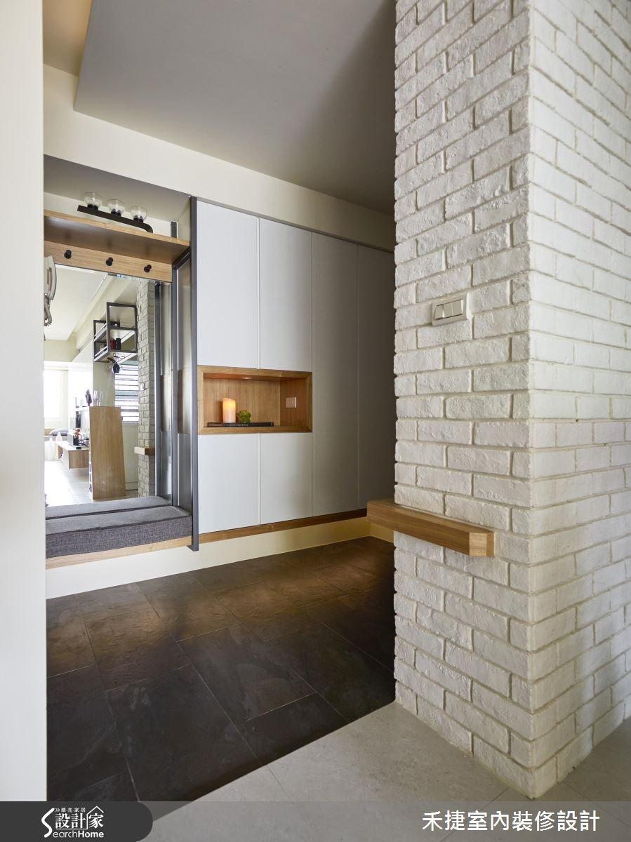 30坪新成屋(5年以下)_現代風案例圖片_禾捷室內裝修設計有限公司_禾捷_32之2