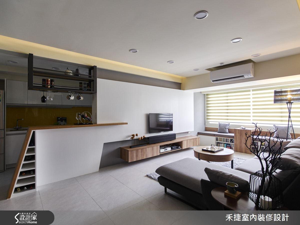 30坪新成屋(5年以下)_現代風案例圖片_禾捷室內裝修設計有限公司_禾捷_32之3