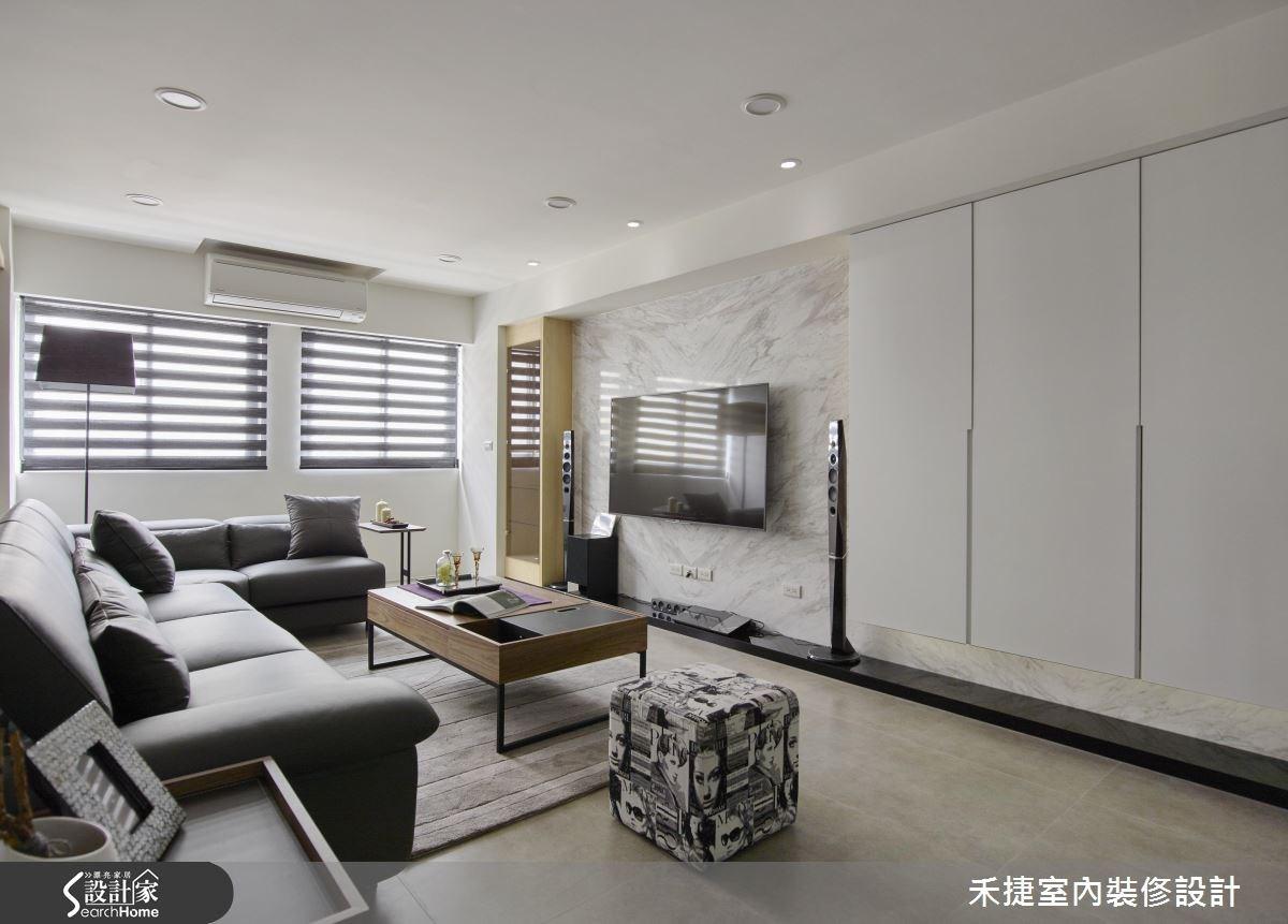 40坪老屋(16~30年)_現代風案例圖片_禾捷室內裝修設計有限公司_禾捷_33之4