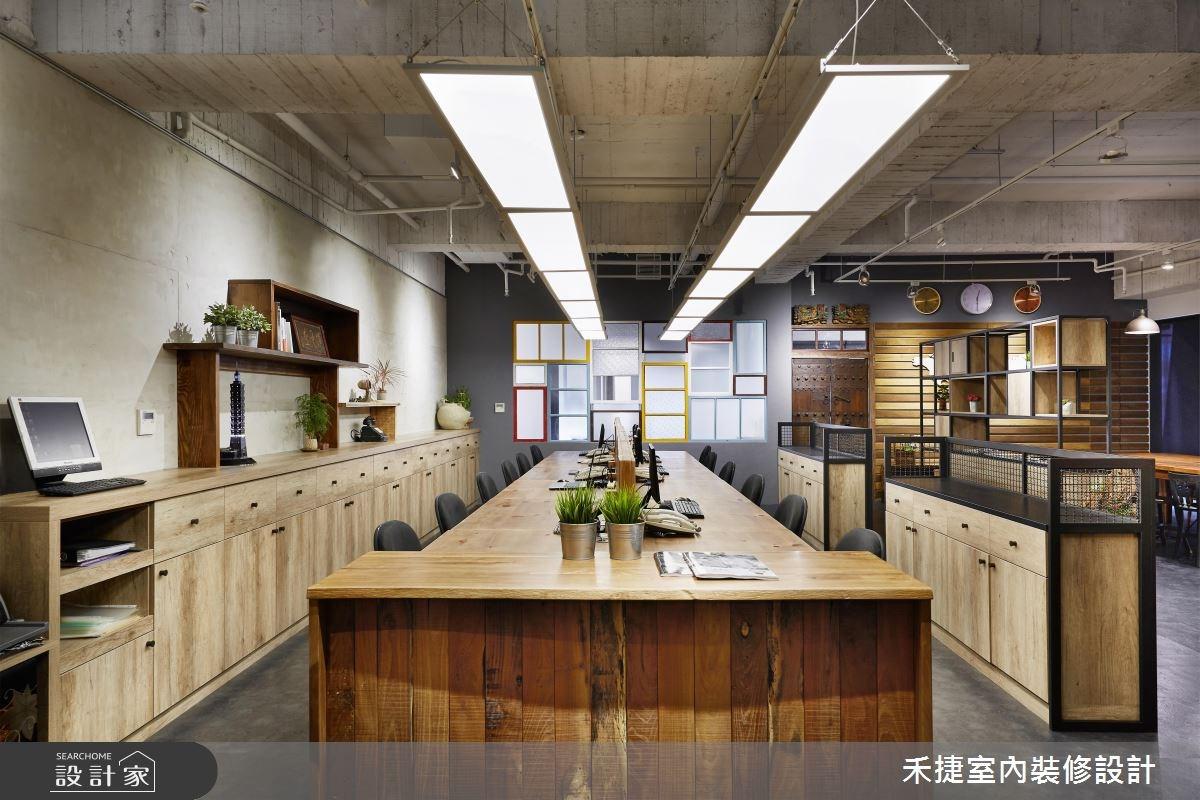 54坪新成屋(5年以下)_工業風案例圖片_禾捷室內裝修設計有限公司_禾捷_35之4