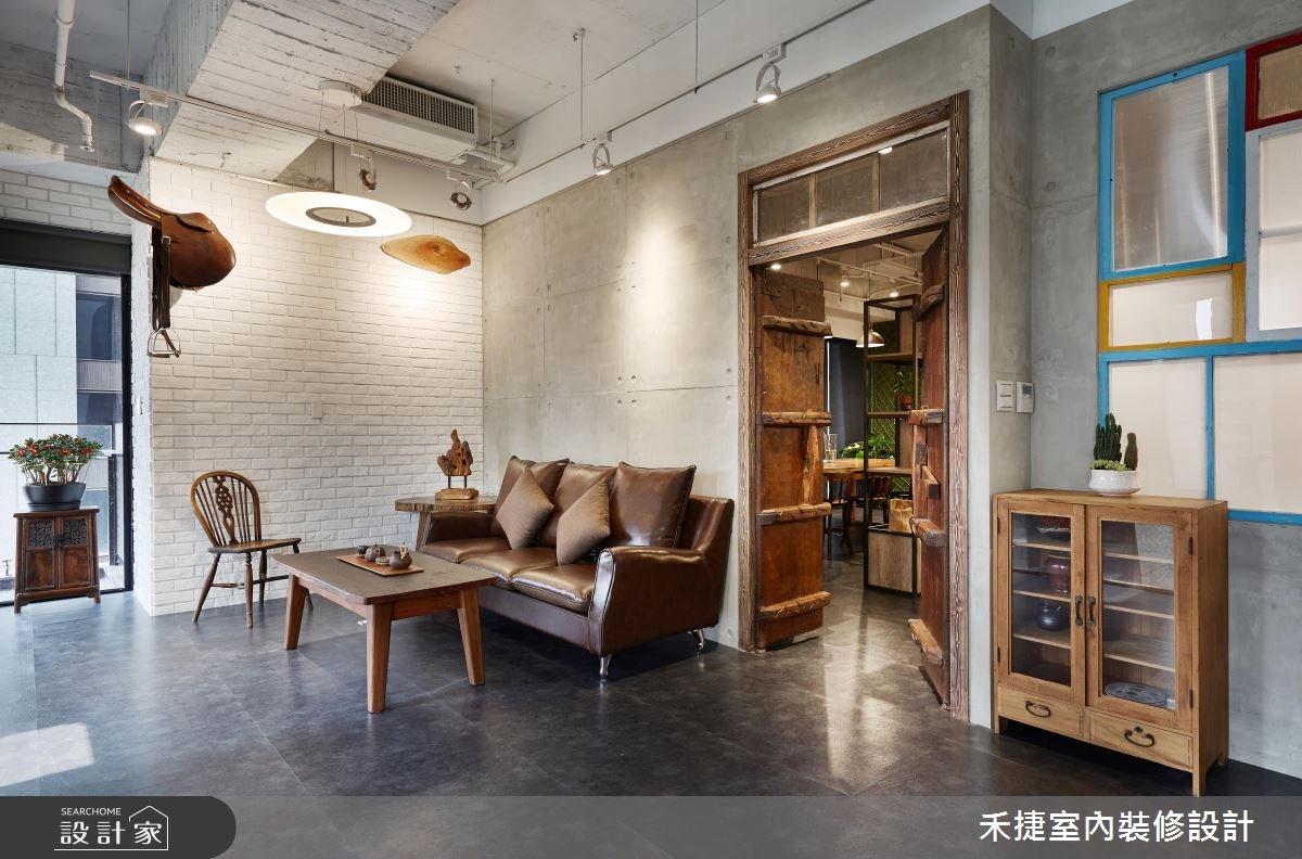 54坪新成屋(5年以下)_工業風案例圖片_禾捷室內裝修設計有限公司_禾捷_35之10