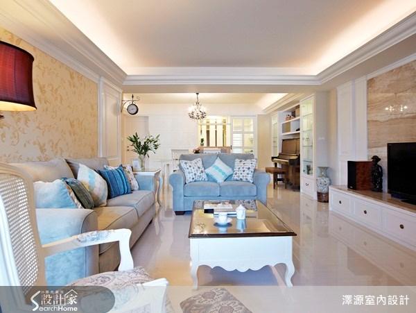 37坪_美式風客廳案例圖片_澤源室內設計_澤源_01之2