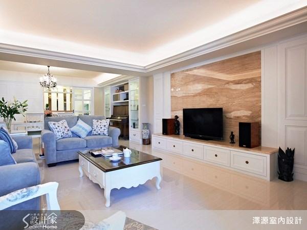 37坪_美式風客廳案例圖片_澤源室內設計_澤源_01之3