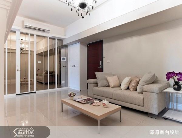 17坪_現代風客廳案例圖片_澤源室內設計_澤源_02之4