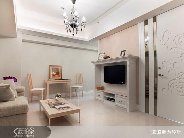 17坪_現代風客廳案例圖片_澤源室內設計_澤源_02之1