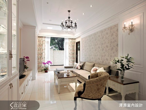 35坪_美式風客廳案例圖片_澤源室內設計_澤源_03之3