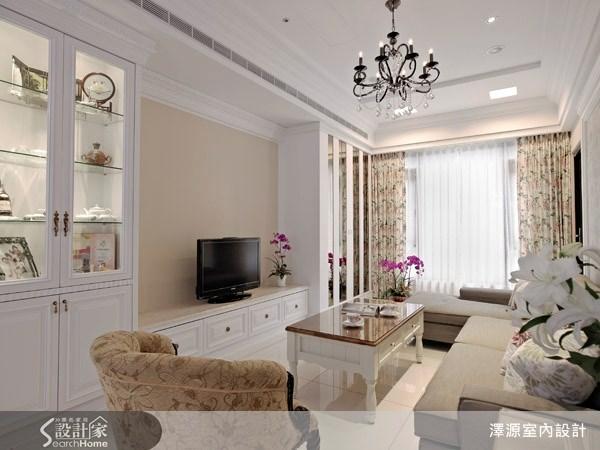 35坪_美式風客廳案例圖片_澤源室內設計_澤源_03之5