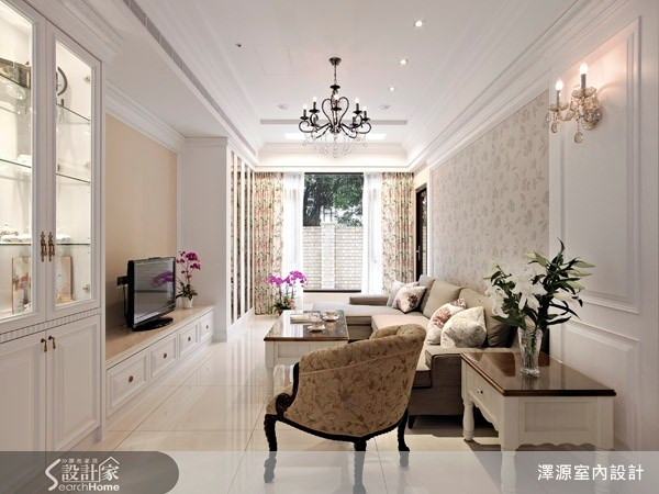 35坪_美式風客廳案例圖片_澤源室內設計_澤源_03之1