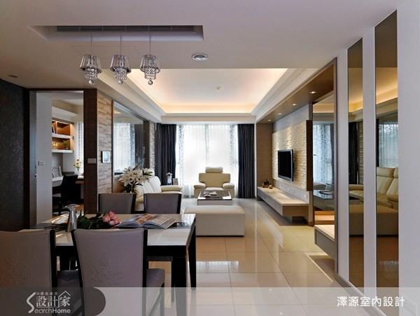 40坪_現代風餐廳案例圖片_澤源室內設計_澤源_06之4