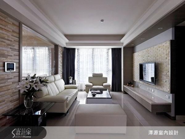 40坪_現代風客廳案例圖片_澤源室內設計_澤源_06之2