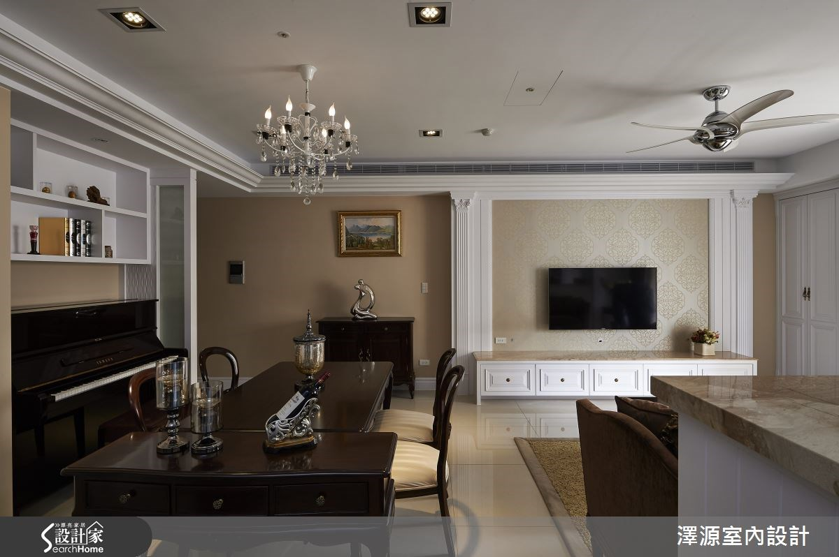 35坪_新古典餐廳案例圖片_澤源室內設計_澤源_13之4