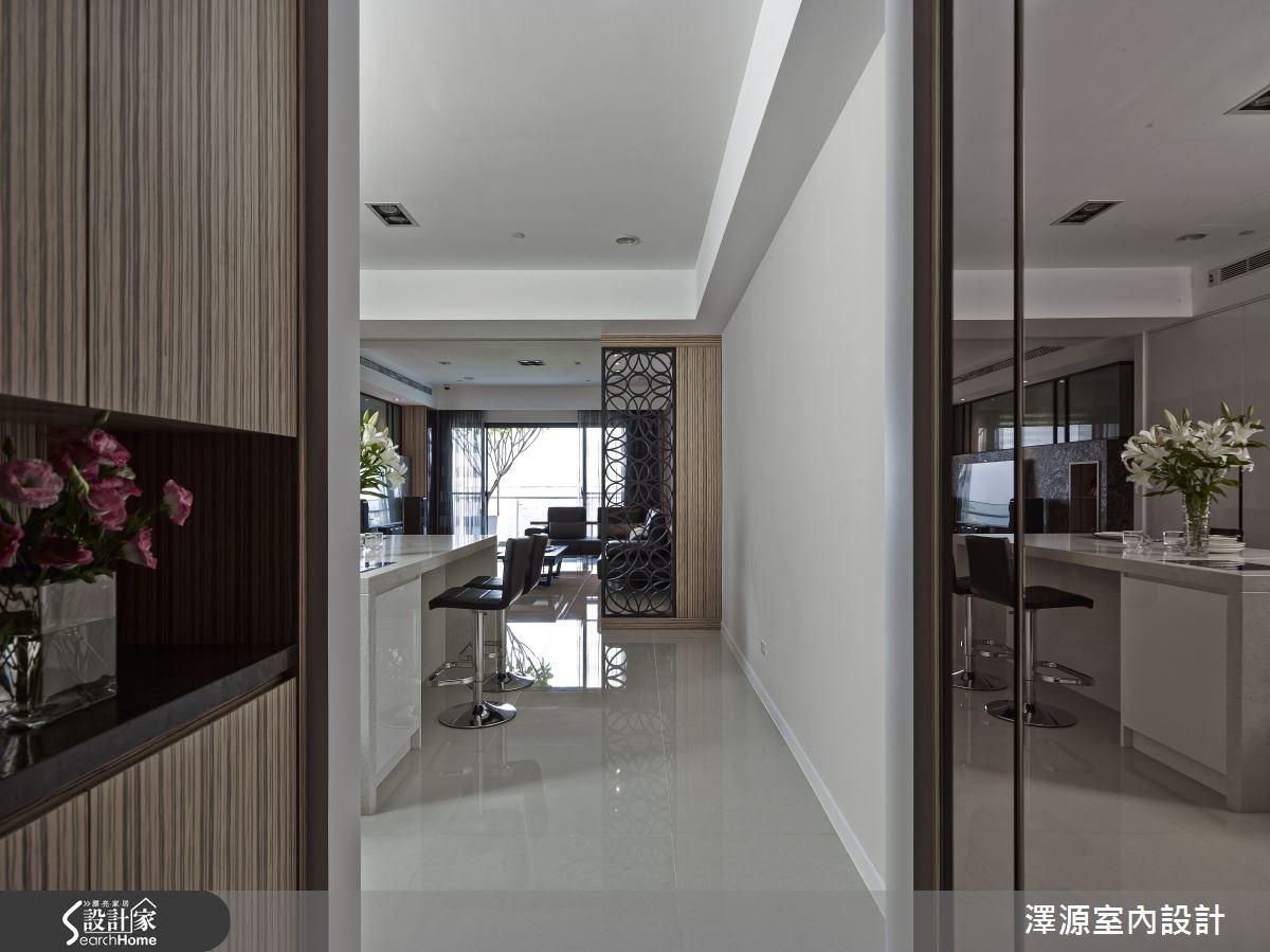 50坪_現代風走廊案例圖片_澤源室內設計_澤源_14之2