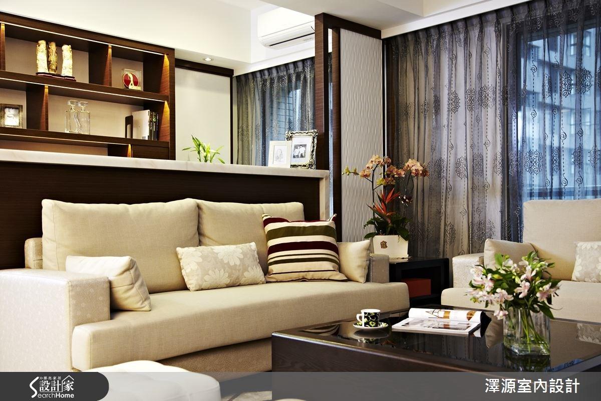 32坪新成屋(5年以下)_混搭風案例圖片_澤源室內設計_澤源_15之2