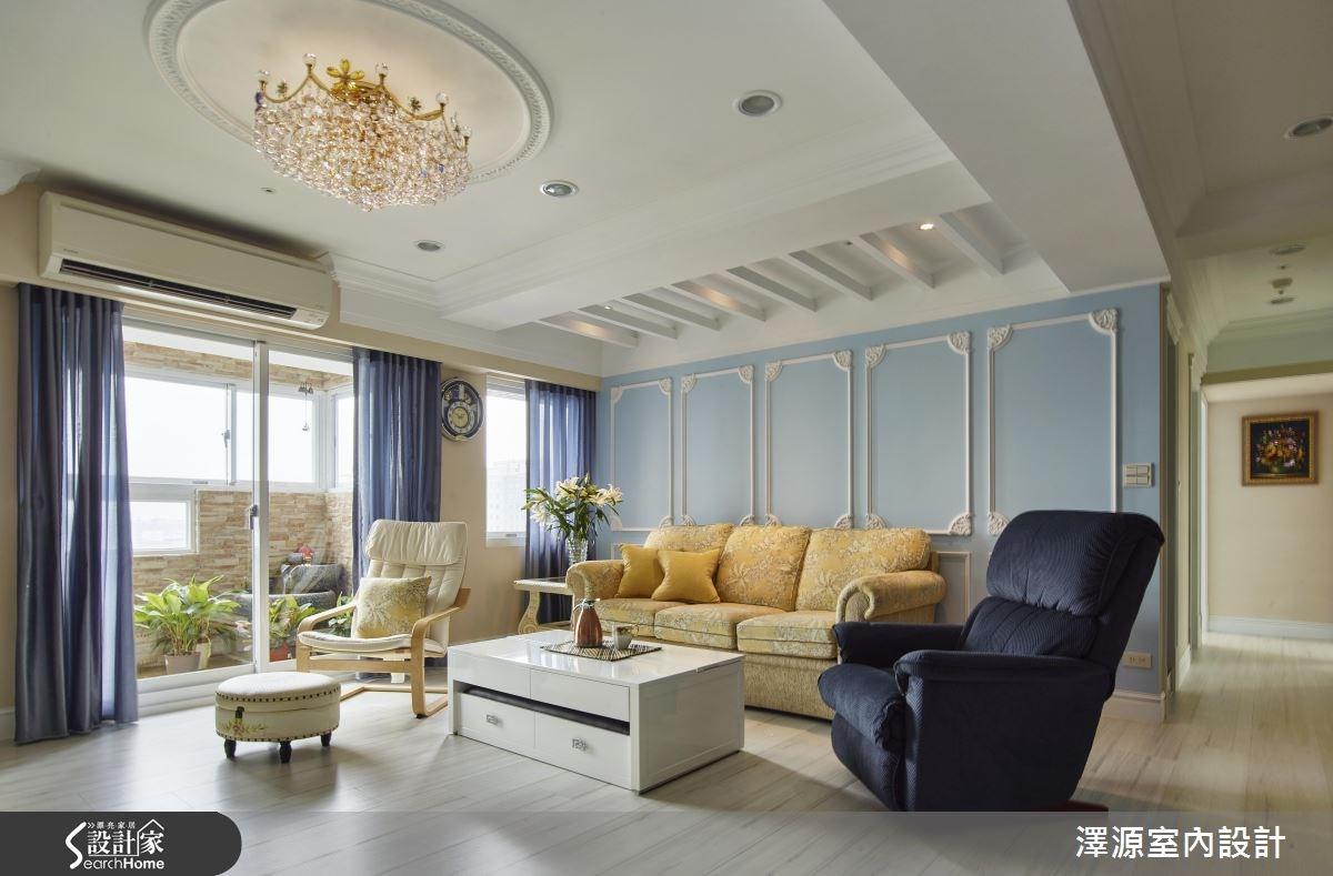 60坪老屋(16~30年)_美式風案例圖片_澤源室內設計_澤源_17之1