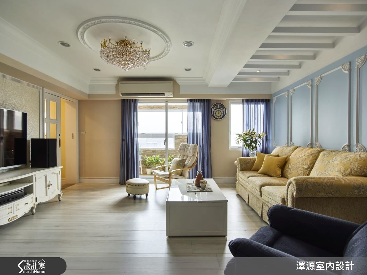 60坪老屋(16~30年)_美式風案例圖片_澤源室內設計_澤源_17之2