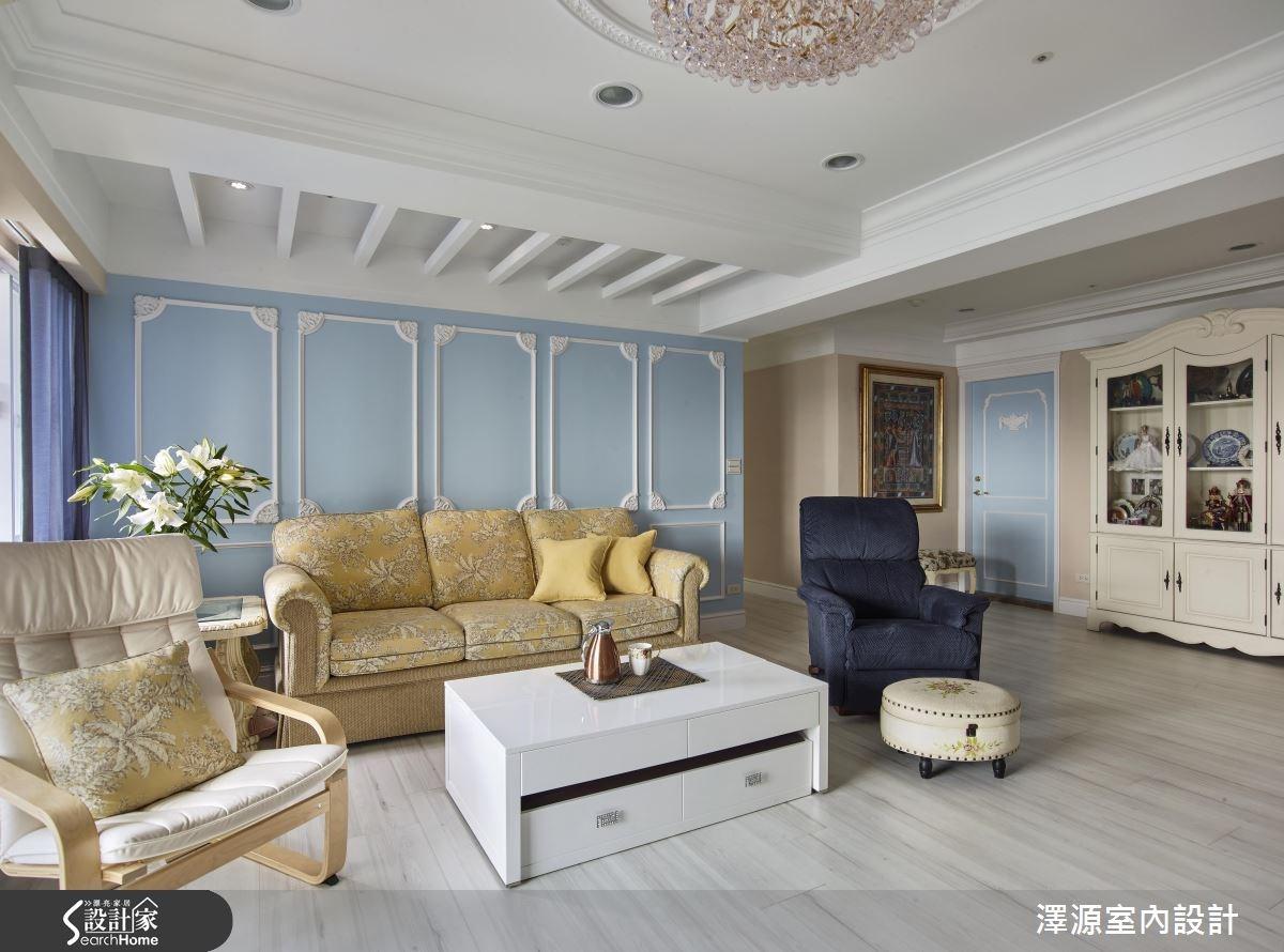 60坪老屋(16~30年)_美式風案例圖片_澤源室內設計_澤源_17之3