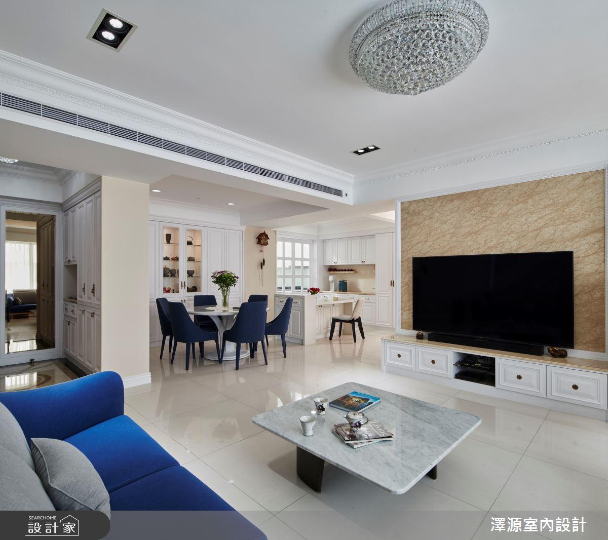 40坪新成屋(5年以下)_美式風餐廳案例圖片_澤源室內設計_澤源_18之3