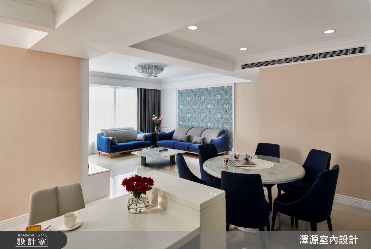 40坪新成屋(5年以下)_美式風餐廳案例圖片_澤源室內設計_澤源_18之7