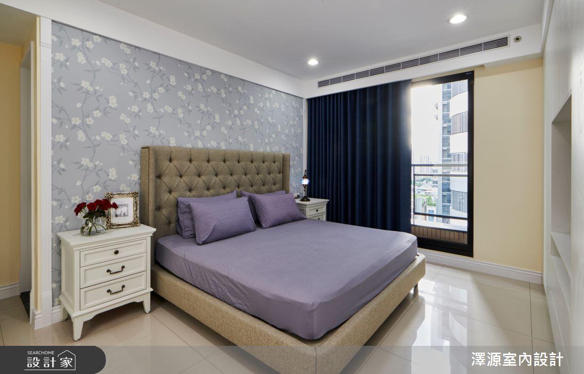 40坪新成屋(5年以下)_美式風臥室案例圖片_澤源室內設計_澤源_18之10