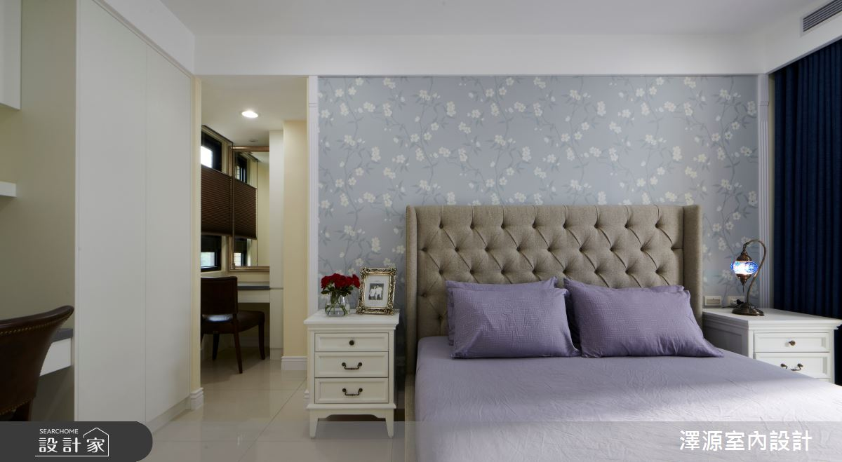 40坪新成屋(5年以下)_美式風臥室案例圖片_澤源室內設計_澤源_18之11