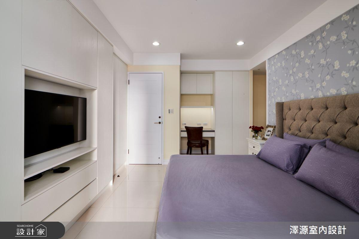40坪新成屋(5年以下)_美式風臥室案例圖片_澤源室內設計_澤源_18之12