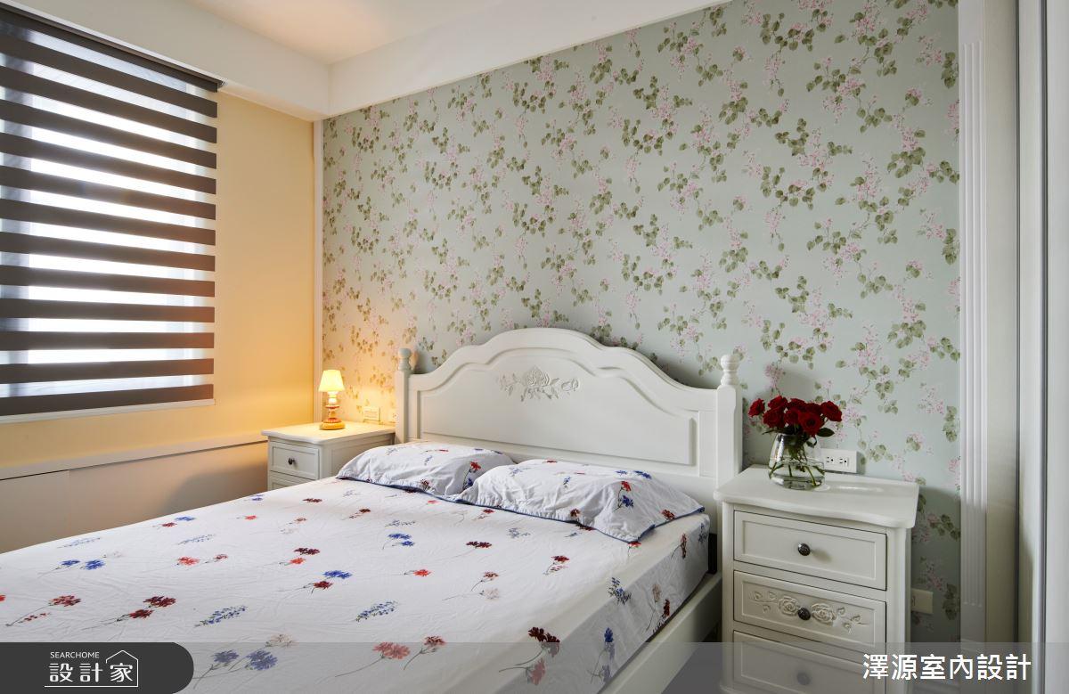 40坪新成屋(5年以下)_美式風臥室案例圖片_澤源室內設計_澤源_18之14