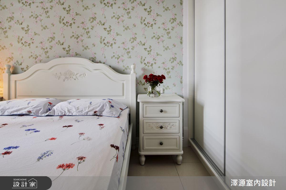 40坪新成屋(5年以下)_美式風臥室案例圖片_澤源室內設計_澤源_18之15