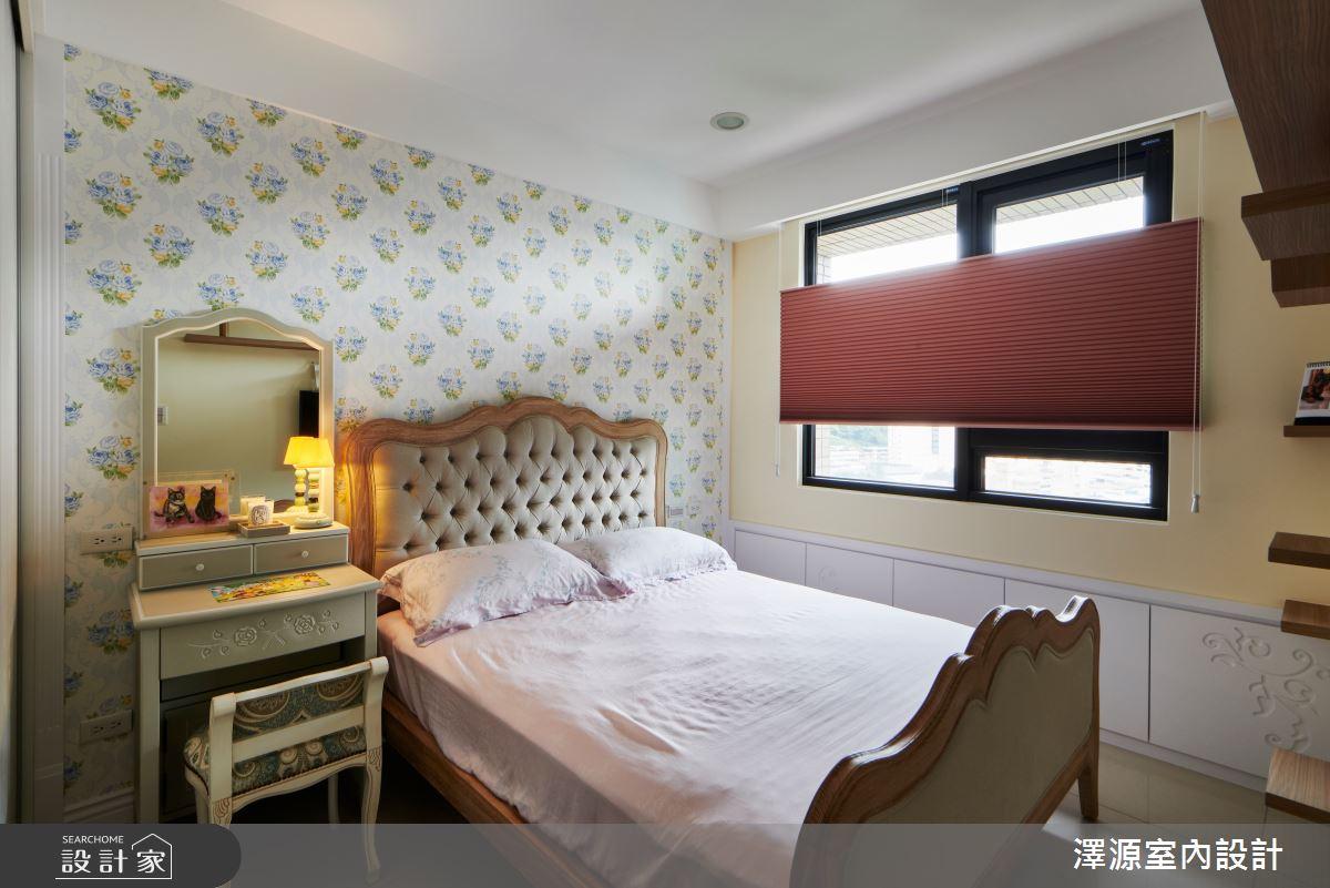 40坪新成屋(5年以下)_美式風臥室案例圖片_澤源室內設計_澤源_18之16