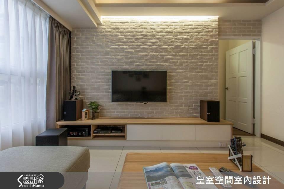 25坪新成屋(5年以下)_簡約風案例圖片_皇室空間室內設計_皇室_10之3