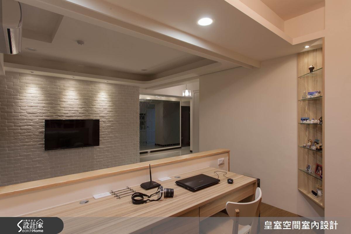 25坪新成屋(5年以下)_混搭風案例圖片_皇室空間室內設計_皇室_11之1
