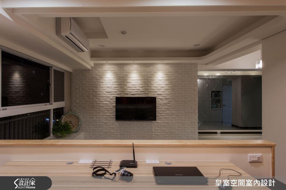 25坪新成屋(5年以下)_混搭風案例圖片_皇室空間室內設計_皇室_11之2