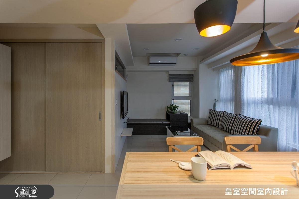 25坪新成屋(5年以下)_現代風案例圖片_皇室空間室內設計_皇室_14之3