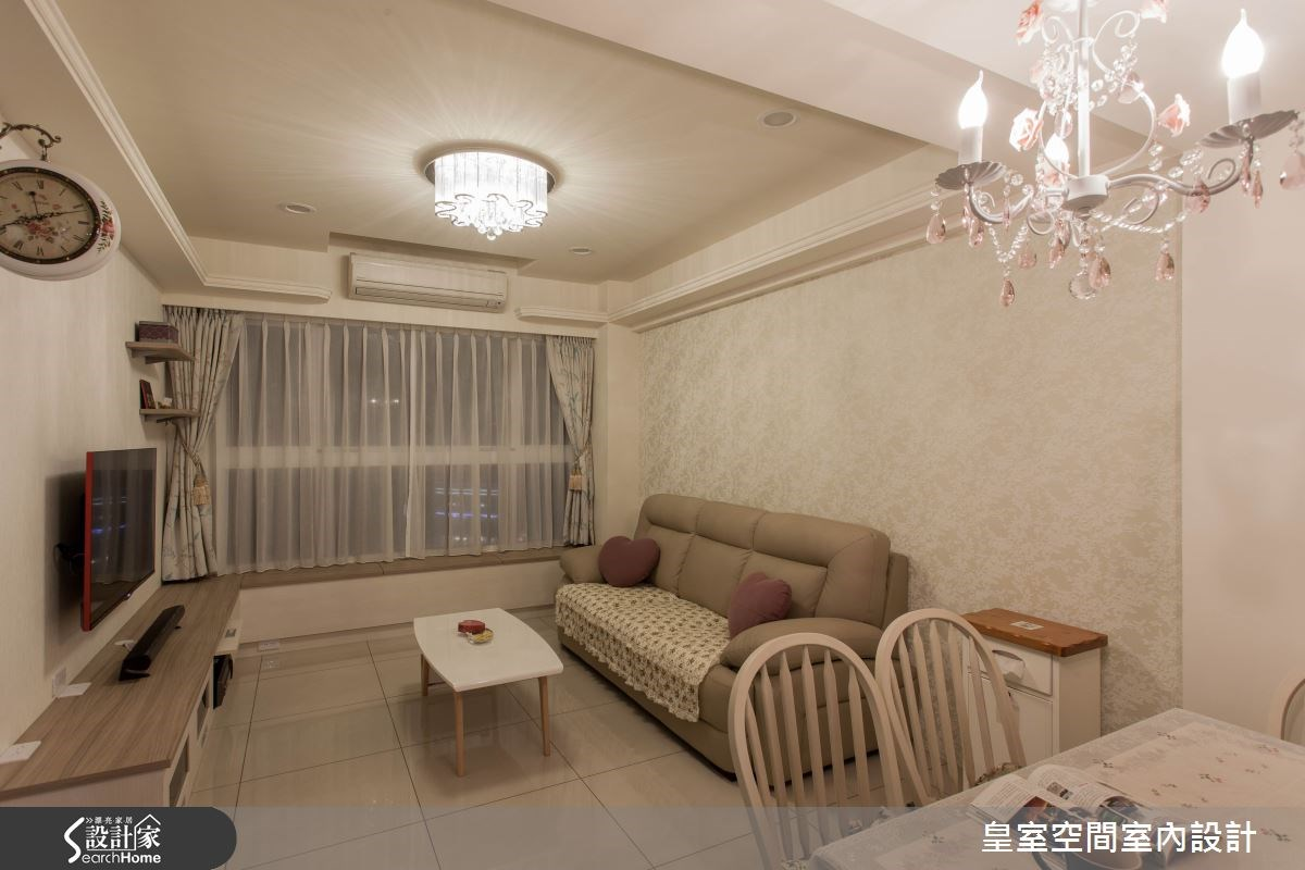 30坪新成屋(5年以下)_鄉村風案例圖片_皇室空間室內設計_皇室_15之5