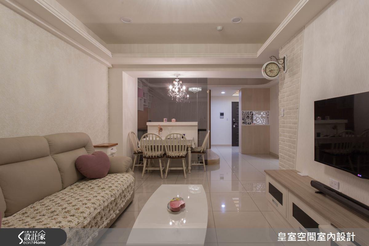 30坪新成屋(5年以下)_鄉村風案例圖片_皇室空間室內設計_皇室_15之6