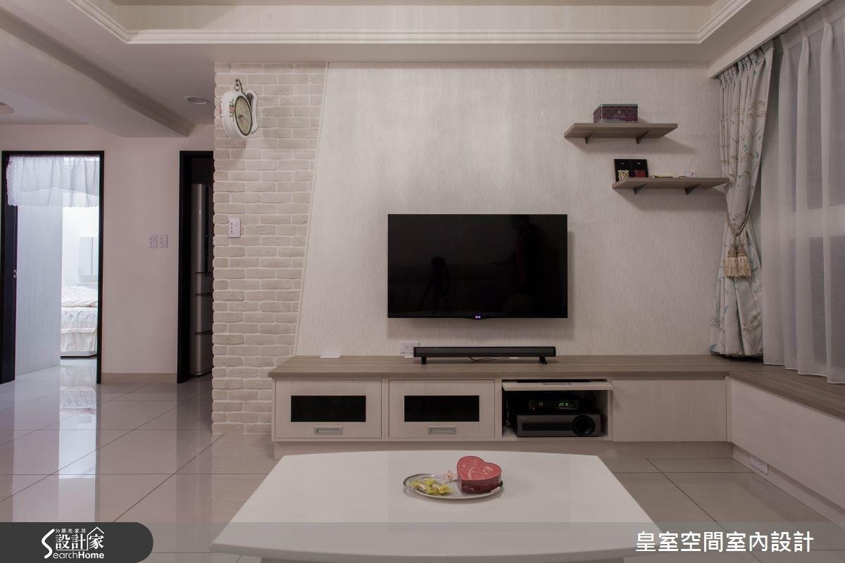 30坪新成屋(5年以下)_鄉村風案例圖片_皇室空間室內設計_皇室_15之8