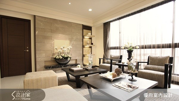73坪預售屋_新中式風案例圖片_優向室內裝修設計_優向_02之4
