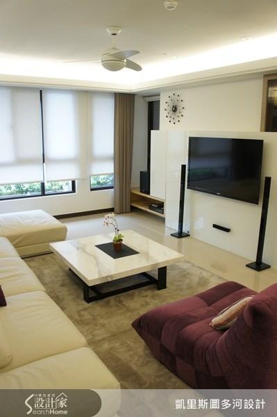 45坪新成屋(5年以下)_北歐風案例圖片_凱里斯圖設計團隊_多河_06之2