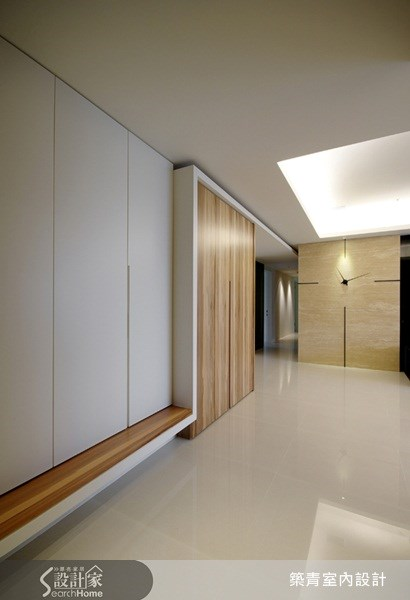 50坪預售屋_現代風走廊案例圖片_築青室內裝修有限公司_築青_03之4