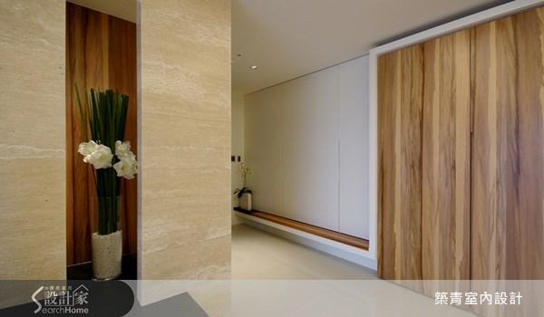 50坪預售屋_現代風玄關案例圖片_築青室內裝修有限公司_築青_03之2