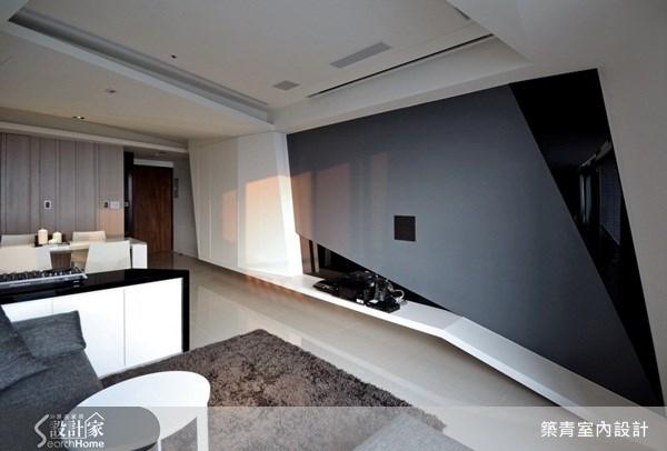 22坪預售屋_現代風客廳案例圖片_築青室內裝修有限公司_築青_04之4