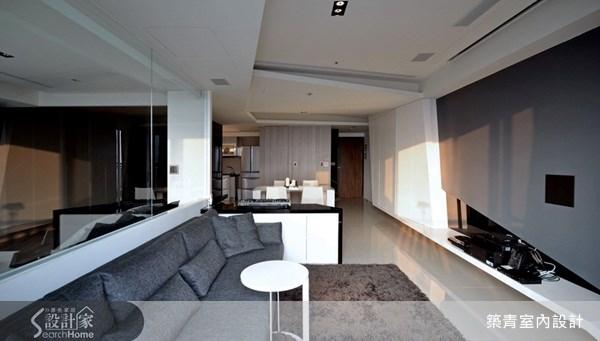 22坪預售屋_現代風客廳案例圖片_築青室內裝修有限公司_築青_04之1