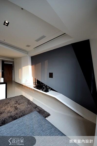 22坪預售屋_現代風客廳案例圖片_築青室內裝修有限公司_築青_04之3