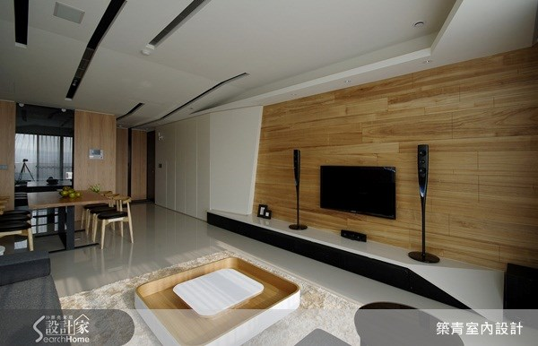 32坪預售屋_北歐風客廳案例圖片_築青室內裝修有限公司_築青_06之3