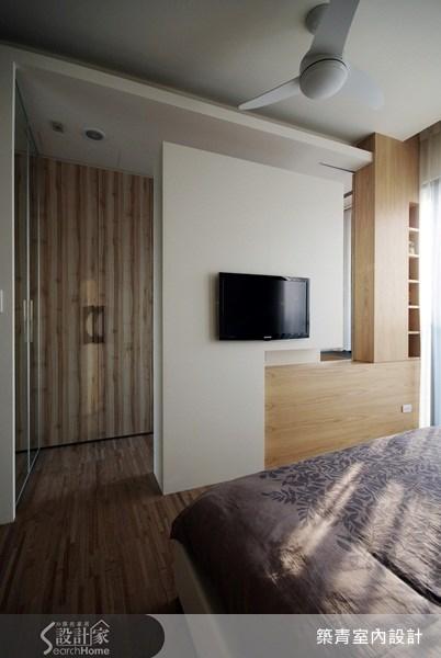 32坪預售屋_北歐風臥室案例圖片_築青室內裝修有限公司_築青_06之13
