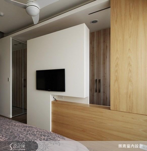 32坪預售屋_北歐風臥室案例圖片_築青室內裝修有限公司_築青_06之14